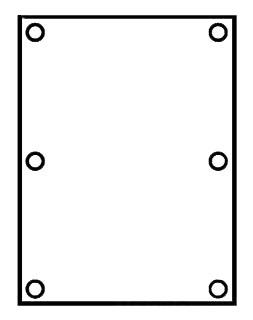 KLRK 7997-1 METAL PAN, FITS 6X8 BOX