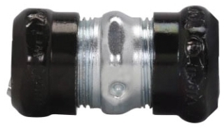 Crouse-Hinds Series 669RT 4 Inch Steel Raintight Compression EMT Coupling