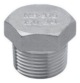 CRSH PLG50SS 1/2 HEX HEAD PLUG SS