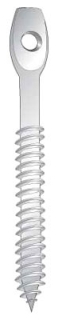 Minerallac,59248,Cully™ 59248 Lag Screw, Imperial, 1/4 in, 3 in L, Steel, Zinc Plated