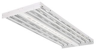 Lithonia Lighting IBZ 632L 6-Lamp 32 W 120 to 277 Volt T8 Fluorescent High Bay Light Fixture