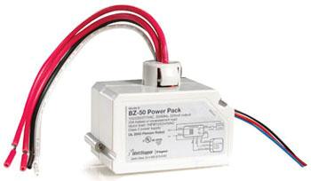 Wattstopper BZ-50 120/277 VAC 50/60 Hz Input 24 VDC 225 mA Output Occupancy Sensor Power Pack
