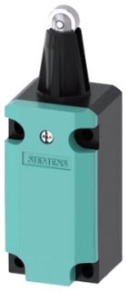 Siemens Industry 3SE51120CD02 M20 x 1.5 Metal 1NO 1NC Snap Action Roller Plunger Limit Switch