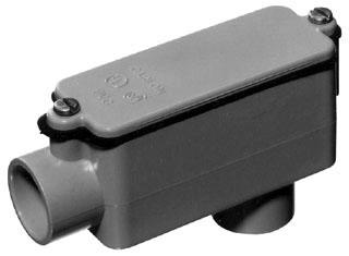 Carlon E986L 3 Inch Type LB Conduit Body