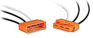 Thomas & Betts LD3-D 18 AWG Copper Lead 3-Pole Luminaire Orange Tiined Polycarbonate Disconnect