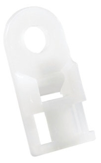 Ty-Rap TC826-TB 1000/Pack .5 x 1 Inch Dimensions #8 Mounting Method 2 Directional Cable Tie Screw Mount