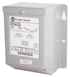 GE Energy 9T51B0104 0.1 kVa 240 VAC Input 12/24 VAC Output 1-Phase Encapsulated Dry Type Buck Boost Transformer