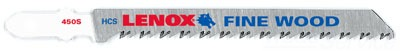 Lenox Tools 20296CF450S 4 Inch 10 TPI Carbon Steel Jig Saw Blade