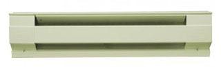 Cadet Mfg Co 06511 6f1500a 1500/1125 W 240/208 Volt Almond Baseboard