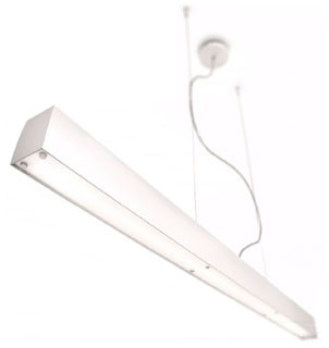 Philips Luminaires,403414848,Linear Fluorescent Pendant, Brushed Nickel