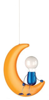 Philips,400923448,Crescent Moon Children's Mini Pendant