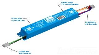 Fulham Company IH2-UNV-270-T8 Electronic Ballast