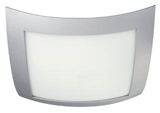 Philips,302008748,Bent Square Flush Mount, Gray