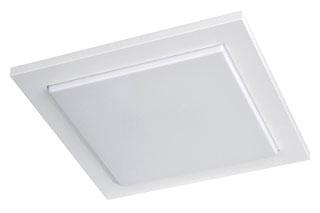 Philips Luminaires,302073148,Dropped Square Fluorescent Flush Mount, White