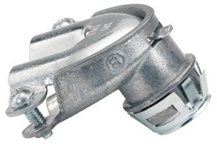 Bridgeport 84690SP 3/8 Inch 90 Degrees Snap-In Duplex Connector