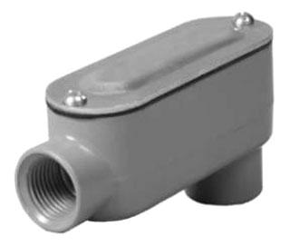 TayMac Corp RLB050 1/2 Inch Rigid LB Conduit Body Assembly
