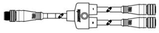 WOOD DNYG001 SPLTR MIC 5P M/MFE .3M