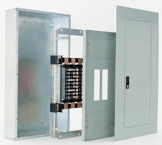 GE Industrial Solutions AQU3426RCXAXB4 240 VAC 600 Amp 3-Phase 42-Circuit Non-Feed-Through Panelboard