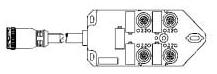WOOD BTY412P-FBP-05 4PORT DU WR CON