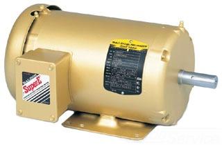 Baldor Electric EM3558T 230/460 Volt 2 Hp 3-Phase 60 Hz 1755 RPM TEFC F1 AC Induction Motor