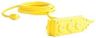 WOOD 31552 RUB BOX&3RCPTS-3W10A250V