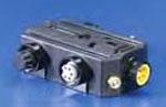 WOOD DN-PT2 DN POWERTAP W/LEDS F-F