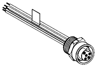 MOLE 41671-0030 MC 5P F/FR 3FT 16/1