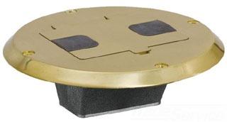 HPW RF506BR WOOD FLOOR BOX FLNG AND