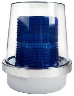 Edwards Signaling 92-LB Blue Lens