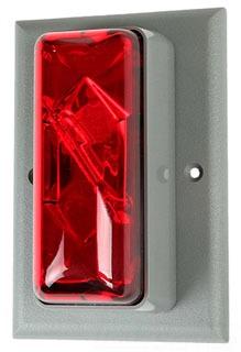 EDW 89STRR-AQ 24VACDC RED FLMT STRB