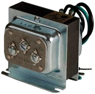 Edwards Signaling 592 20 VA 120 VAC Primary 8/16/24 VAC Secondary Low Voltage Transformer