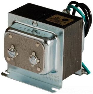 Edwards Signaling 599 40 VA 120 VAC Primary 24 VAC Secondary Low Voltage Transformer