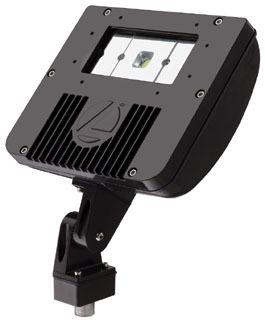Lithonia Lighting DSXF1 LED 1 50K M4 5000 K 1-COB Engine LED Flood Luminaire