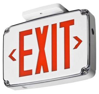 LITH WLTE-W-1-G-EL Emergency Exit S