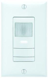 Lithonia Lighting WSX WH 120/277 VAC 1/4 Hp White 1-Gang Wall Switch Occupancy Sensor