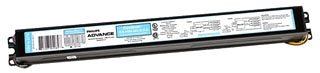 Advance HCN4S5490C2LSG35I 347 to 480 VAC 50/60 Hz 54 W 4-Lamp T5 Electronic Ballast