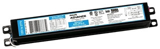 Philips Advance IOPA2P32LWN35M 120 to 277 VAC 50/60 Hz 32 W 2-Lamp T8 Electronic Ballast