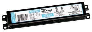 Philips Advance IOP4PSP32SC35M 120 to 277 VAC 50/60 Hz 32 W 4-Lamp T8 Electronic Ballast