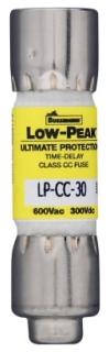 Bussmann Series LP-CC-2-8/10 Low Peak Time Delay Fuse