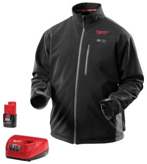 Milwaukee Tool 2395-M M12 Medium Cordless Black Heated Jacket Kit