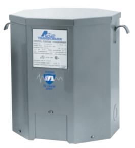 Actuant T279745S 1 Phase 60 Hz 120-208-240-277 Primary Volt 120-240 Secondary Volt Transformer