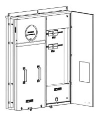 Siemens Industry MM0404L1400FD 120/240 VAC 320 Amp 1-Phase 3-Wire Meter Main Breaker