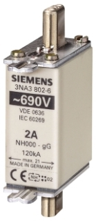 S-A 3NA3803-6 FUSE LINK,LV HRC,10A,