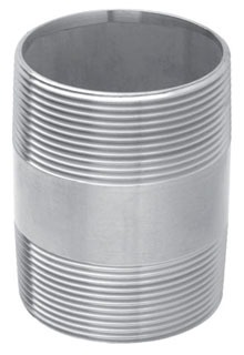 3-1/2 X 6 Inch Galvanized Nipple