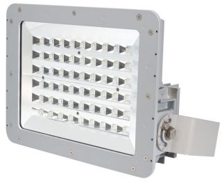 Crouse-Hinds Series FMV11LCY/UNV1 76 LED Pattern 10420 Lumen Cool White Floodlight with Yoke Mount