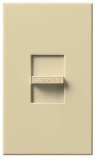 Lutron Electronics NFTU-5A-IV 120 VAC Ivory 1-Pole Fluorescent Slide Dimmer