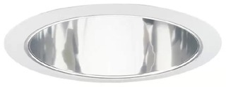 Juno 247C-WH 6 Inch 65/75 W BR/PAR30/30L Shallow Conical Downlight Trim