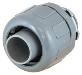 HWDK P050CGY STR MALE L/T C CONN, 1