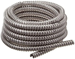 1/2 Inch Aluminum Flex Conduit, 100 Foot Coil