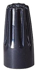 Ideal Industries 30-153 22 to 14 AWG 600 Volt Black Twist-On Wire Connector